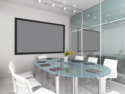 You can buy a projection screen at Macada Innovsion