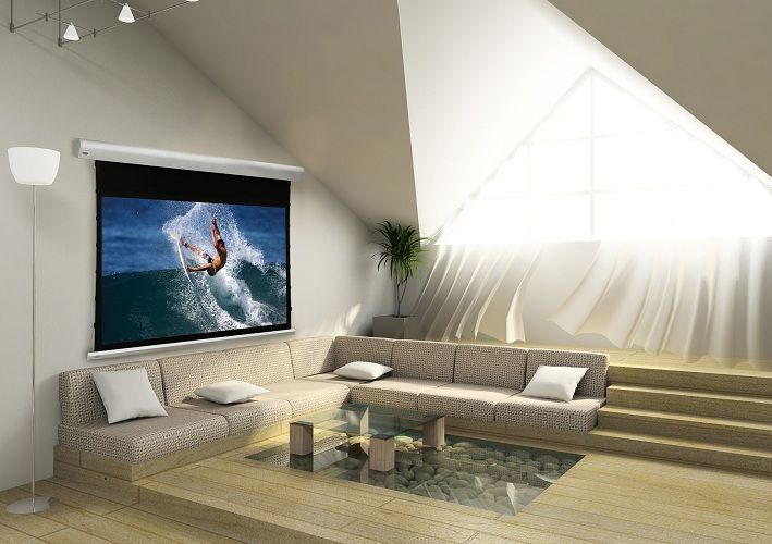 Draper-Euroscreen-Linea-HomeTheatre